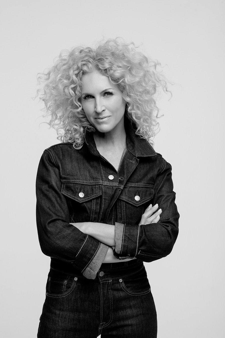 <p>Kimberly Schlapman wears the Levi's x karla Boiler Suit. (Photo: Courtesy of Levi's) </p>