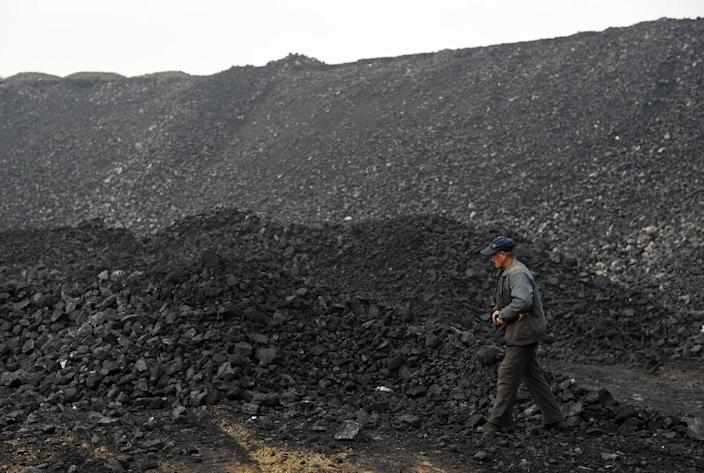 Deadly mining accidents are common in China, where the industry has a poor safety record, despite efforts to improve coal production conditions (AFP Photo/GREG BAKER)