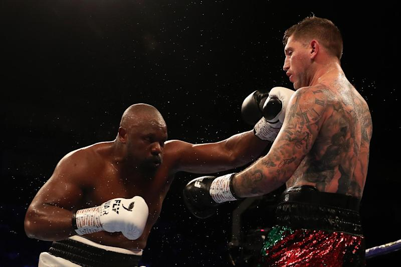 Dereck Chisora flattered to deceive in a dull bout against the evasive Senad Gashi (Getty Images)