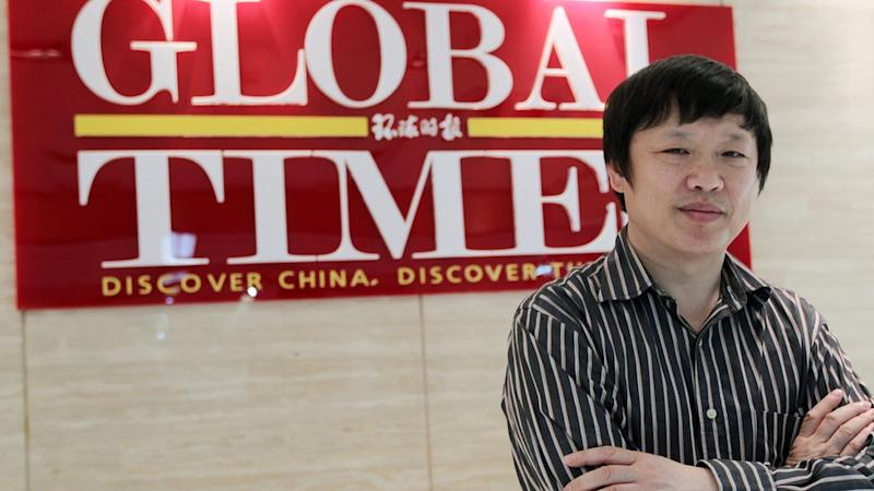 Hu Xijin, editor of the Global Times
