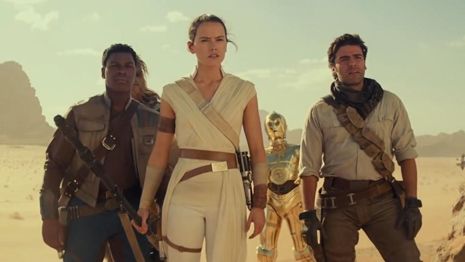 The gang of heroes is back together in 'Star Wars: The Rise of Skywalker'.
