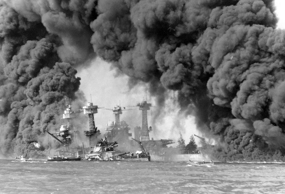 battleships pearl harbor