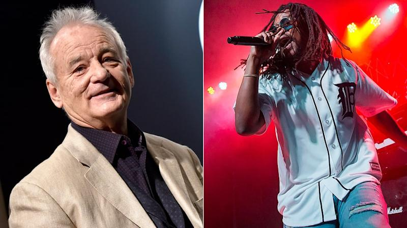 Bill Murray Surprises Lupe Fiasco Backstage in Texas, Demands Encore
