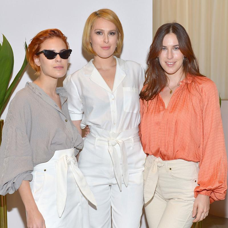 Langley Fox, Aubrey Plaza, and the Willis Sisters Celebrate