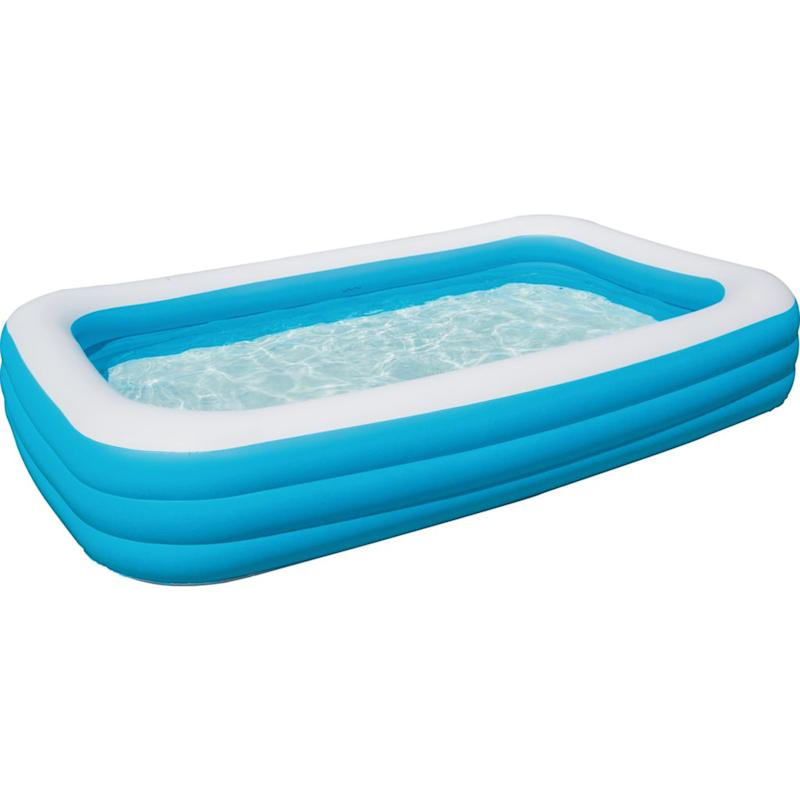 Blue Rectangular Pool. Image via Great Canadian Superstore.