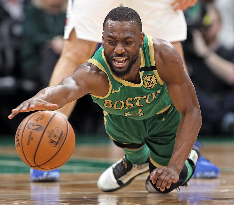 Celtics coach Brad Stevens is in no rush to get Kemba Walker back on the court. He doesn't want to risk anything.
