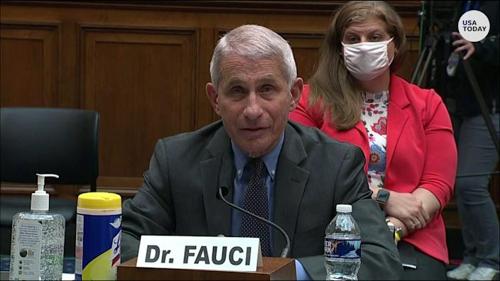 """Fauci contradicts Trump COVID-19 claims: """"We will conduct more tests, not less"""""""