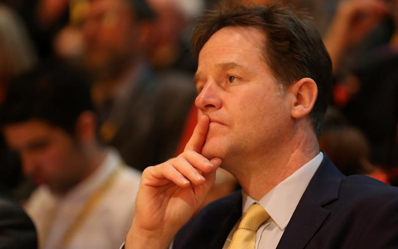 Nick Clegg - Credit: Getty