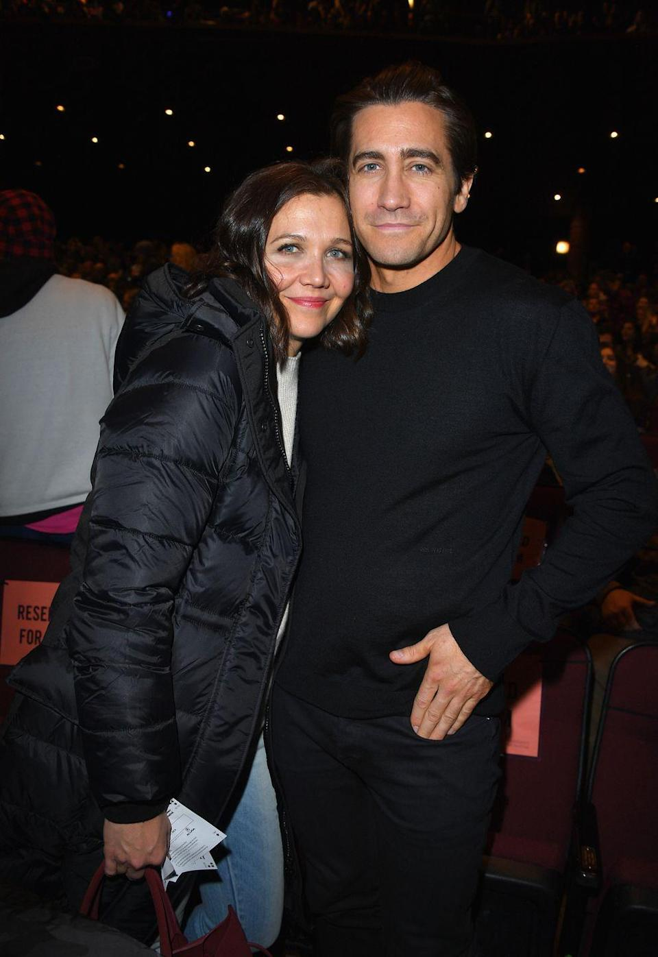 <p>Maggie and Jake Gyllenhaal are one of Hollywood's most well-known siblings, largely due to their matching deep set blue eyes and dark brunette hair. Both are famous actors in their own right and frequently escort each other on the red carpet. </p>