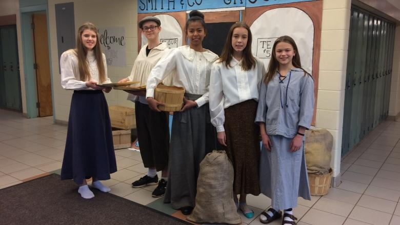 P.E.I. students recreate Halifax in 1917 for explosion's 100th anniversary