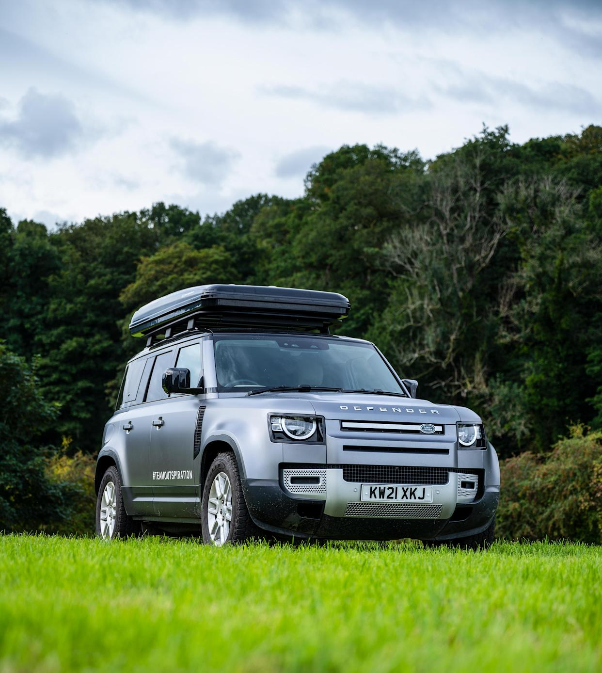 Land Rover x Autohome roof tent