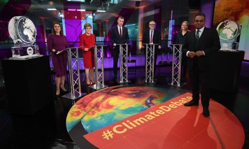 Channel 4 cleared of bias for replacing PM with ice block in debate