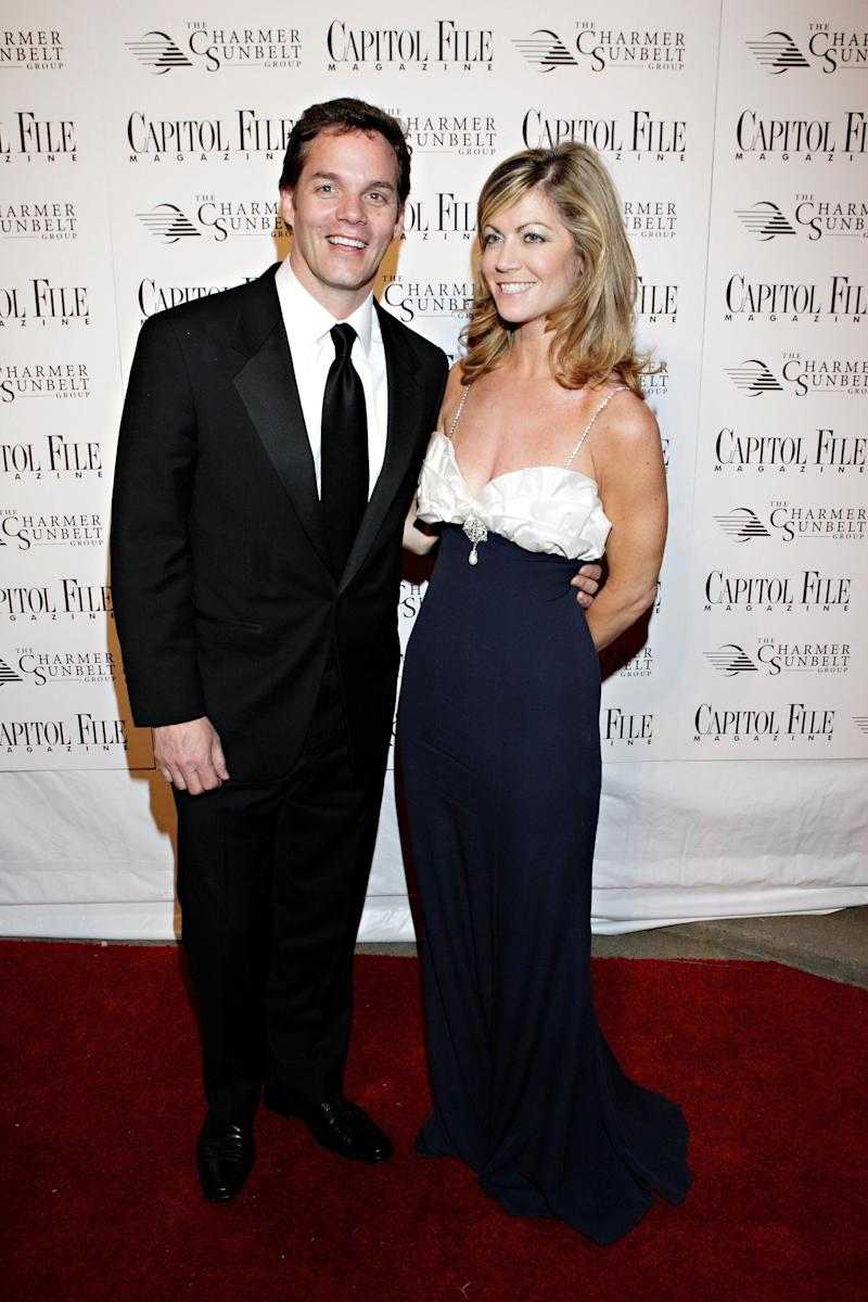 Laurie Luhn (right) with Bill Hemmer at theCapitol File Magazine and Charmer Sunbelt Host White House Correspondents' Association Dinner After-Party at Charmer Sunbelt in Washington, DC, in 2007. (Photo: Paul Morigi via Getty Images)