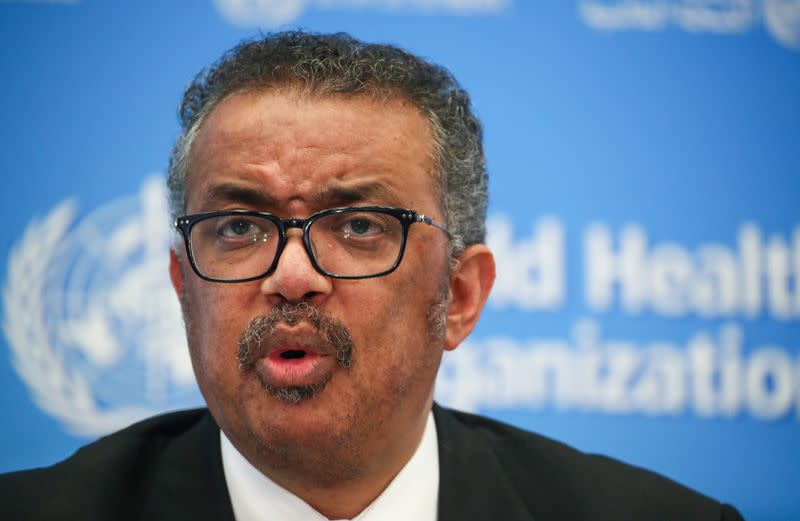 'Every scenario on the table' in China virus outbreak - WHO's Tedros