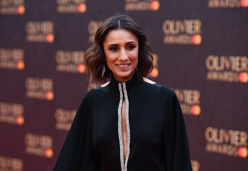 Anita Rani has said speaking about miscarriage remains a taboo, pictured here at the Olivier Awards April 2019. (Getty Images)
