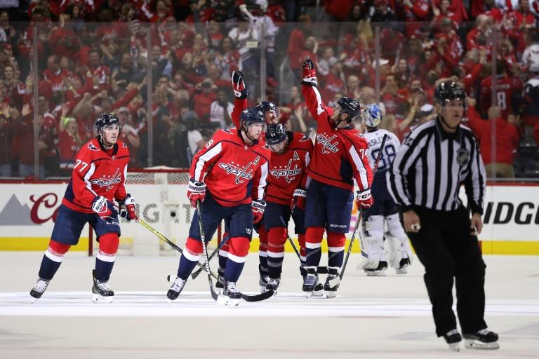 The Washington Capitals pushed their Eastern Conference Finals series to the limit blanking the Tampa Bay Lightning 3-0 and tying the series 3-3