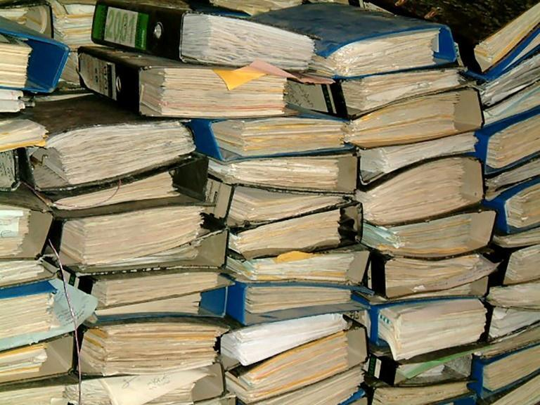 Five million pages of internal documents were found in 2003 months after Saddam was toppled in a US-led invasion