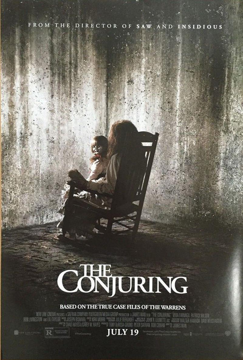 Poster promocional de The Conjuring