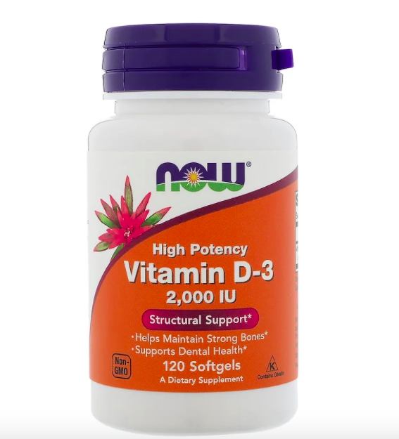 Now Foods, Vitamin D-3 High Potency, S$6.40. PHOTO: iHerb