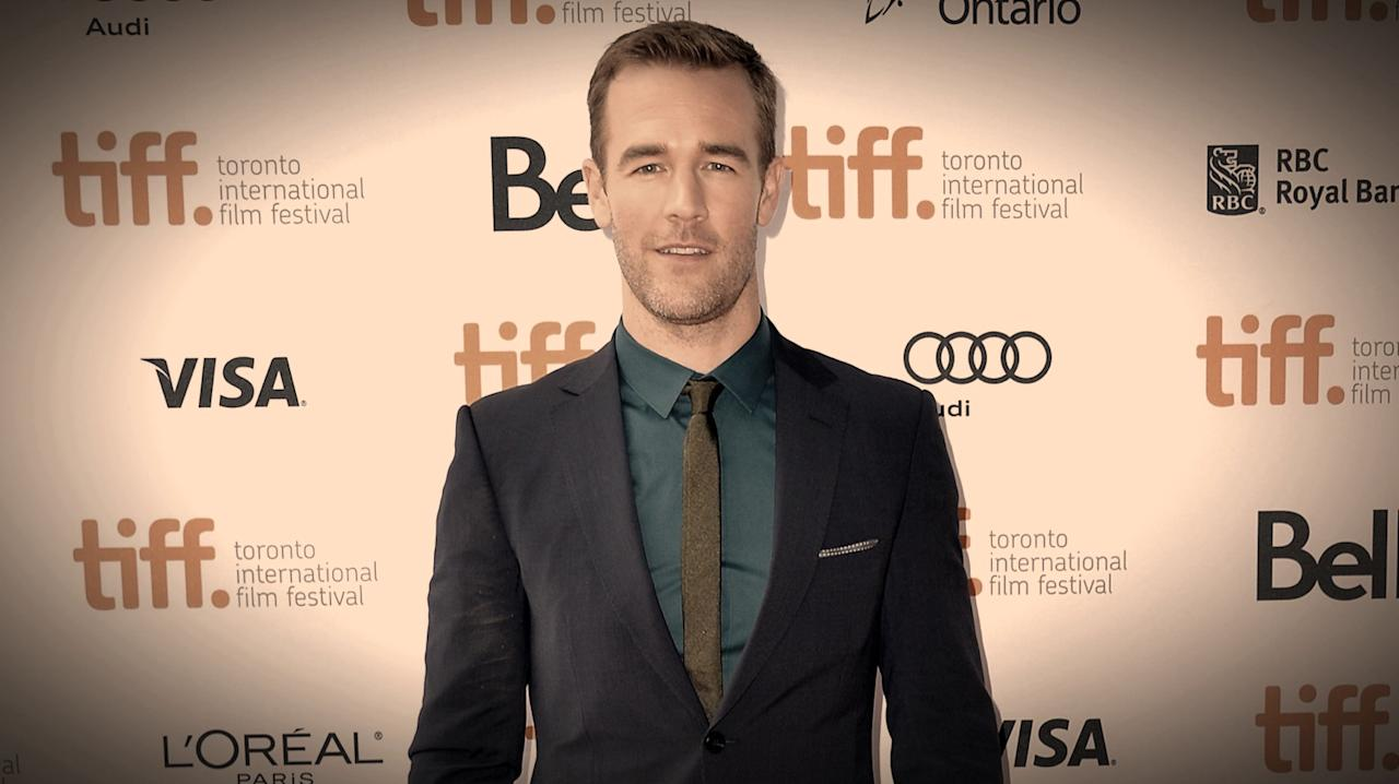 "James Van Der Beek attends the ""Labor Day"" premiere during the 2013 Toronto International Film Festival at Ryerson Theatre on September 7, 2013 in Toronto, Canada.  (Photo by Alberto E. Rodriguez/Getty Images)"