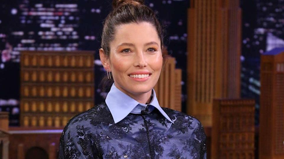 The actress joined Jimmy Fallon on Tuesday's 'Tonight Show' for an embarrassing stroll down memory lane.