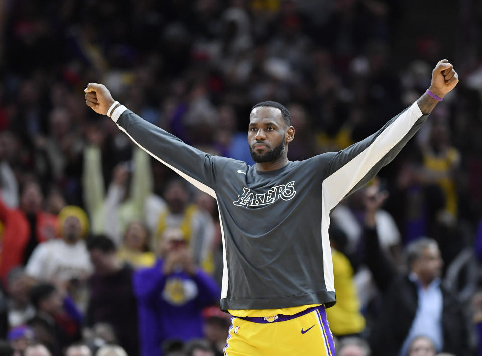 The old LeBron James is back, and he wants everyone — especially the haters — to know. (Quinn Harris-USA TODAY Sports)