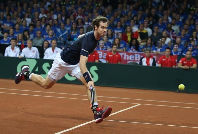 Andy Murray will turn his thoughts to the clay season