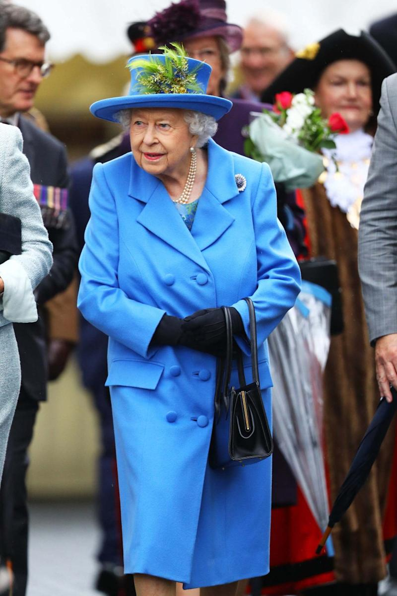 The Queen will deliver a speech on Monday (PA)