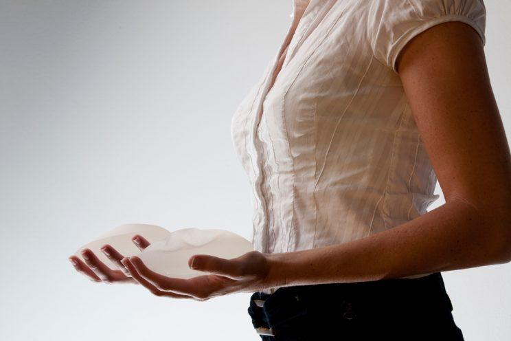 One woman said she ruptured both breast implants after a fall