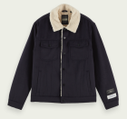 """<p><strong>SCOTCH & SODA</strong></p><p>scotch-soda.com</p><p><strong>$265.00</strong></p><p><a href=""""https://go.redirectingat.com?id=74968X1596630&url=https%3A%2F%2Fwww.scotch-soda.com%2Fus%2Fen%2Fmen%2Fnew-arrivals%2Fsherpa-lined-trucker-jacket%2F161760.html%3Fdwvar_161760_color%3DNight%26cgid%3D1091%23position%3D0&sref=https%3A%2F%2Fwww.esquire.com%2Fstyle%2Fmens-fashion%2Fg34385982%2Ffall-wardrobe-essentials%2F"""" rel=""""nofollow noopener"""" target=""""_blank"""" data-ylk=""""slk:Shop Now"""" class=""""link rapid-noclick-resp"""">Shop Now</a></p><p>Sherpa is nothing new, but suddenly, it is <em>everywhere</em>. The fuzzy fabric has exploded the past few seasons (thanks to the <a href=""""https://us.maxmara.com/icon-coats/teddy"""" rel=""""nofollow noopener"""" target=""""_blank"""" data-ylk=""""slk:MaxMara"""" class=""""link rapid-noclick-resp"""">MaxMara</a> teddy coat, perhaps?) and the world has been introduced to a whole new universe of entirely sherpa duds. If this sounds like we're mad about it, we aren't, we love the stuff! We just prefer it in it's in classic form, like lining this retro wool trucker from Scotch & Soda. </p>"""