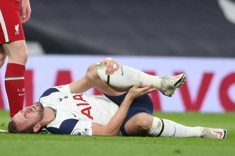 Tottenham manager Jose Mourinho faces an anxious wait to find out the seriousness of an injury to Harry Kane