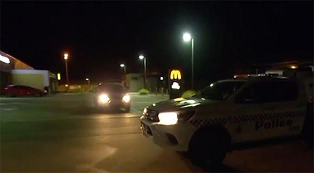 Police responded to reports of an altercation on Monday night. Source: 7 News