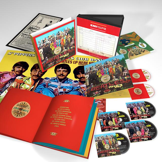 The 'Sgt. Pepper's' 50th Anniversary edition (photo courtesy of Capitol Records)