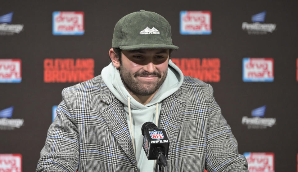 Browns quarterback Baker Mayfield saved himself $12,500 after winning an appeal against the league on Monday.