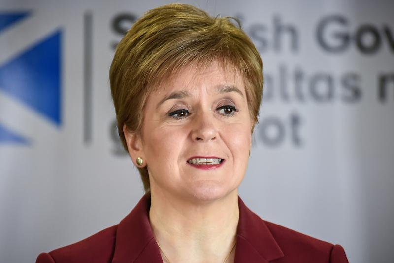 "File photo dated 29/03/2020 of First Minister Nicola Sturgeon, who has said Scotland should ""look seriously at social and economic reform"" in its planning for recovery from the coronavirus pandemic."