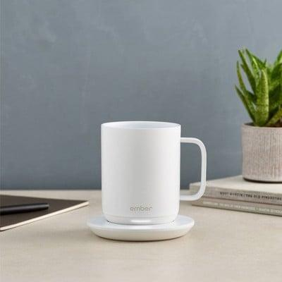 <p>Keep your coffee and tea piping hot all day long with this <span>Ember Mug</span> ($100).</p>