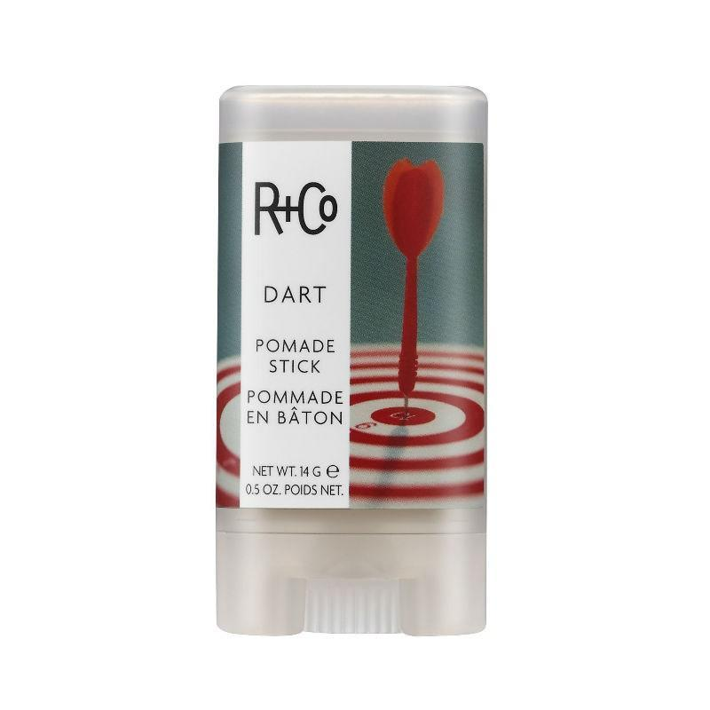 "<p>R+Co's Dart Pomade Stick is perfectly designed to swipe directly on strands. Use it to tame flyaways, slick hair in place, or to add a bit of texture to longer styles. It's fitting that it won a 2019 <a href=""https://www.allure.com/story/best-of-beauty-2019-winners?mbid=synd_yahoo_rss"" rel=""nofollow noopener"" target=""_blank"" data-ylk=""slk:Best of Beauty Award"" class=""link rapid-noclick-resp"">Best of Beauty Award</a>, because dad deserves the best products out there.</p> <p><strong>$19</strong> (<a href=""https://www.amazon.com/Co-Dart-Pomade-Stick-0-5/dp/B078HC2DLY"" rel=""nofollow noopener"" target=""_blank"" data-ylk=""slk:Shop Now"" class=""link rapid-noclick-resp"">Shop Now</a>)</p>"