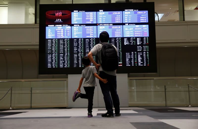 Asia shares cautious ahead of Fed, corporate earnings