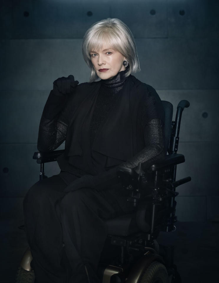 "Blair Brown returns as Nina Sharp in Season Five of ""Fringe."""