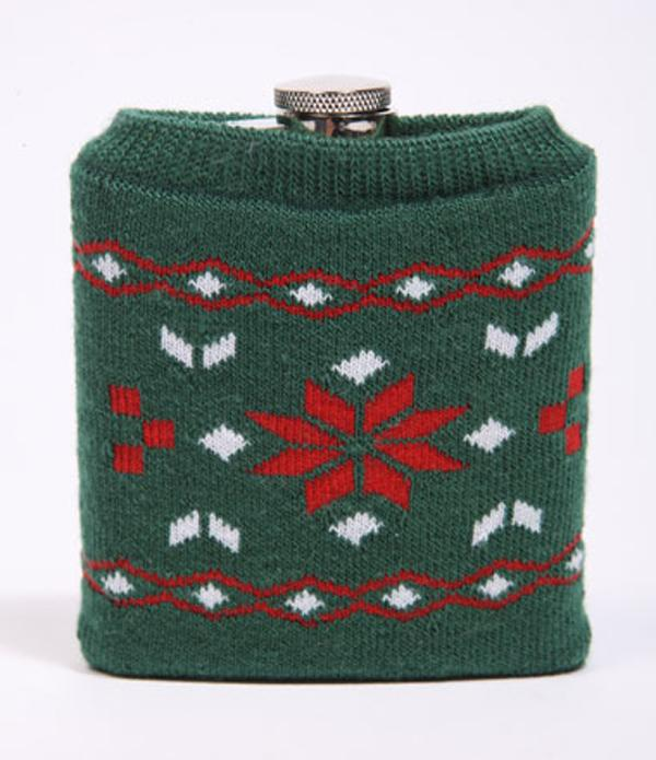 Christmas Jumper Hip Flask, Urban Outfitters £15.