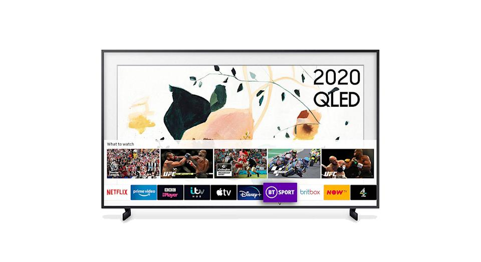Samsung The Frame (2020) QLED Art Mode TV with No-Gap Wall Mount