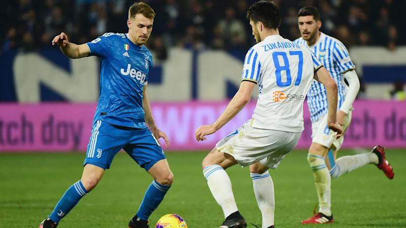 Juventus matchwinner Ramsey delights in midfield-three role