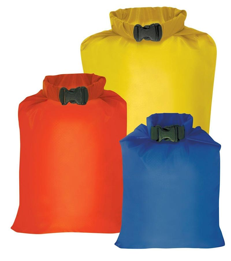 "Get them <a href=""https://www.amazon.com/Outdoor-Products-Ultimate-Sack-Three-Pack/dp/B001AZNATC/ref=sr_1_1?s=sporting-goods&ie=UTF8&qid=1520950645&sr=1-1&keywords=dry+sack"" target=""_blank"">here</a>."