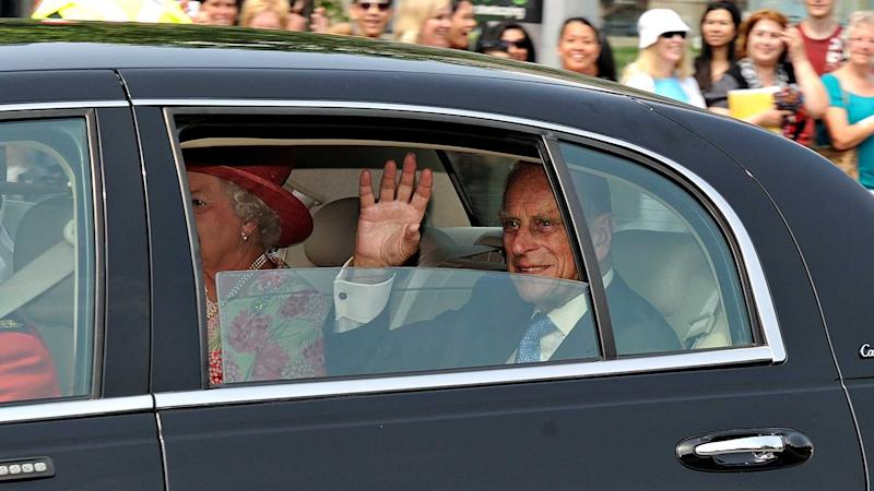 Queen Elizabeth and Prince Philip in Toronto Canada 2010