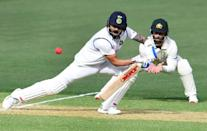 India captain Virat Kohli (L) missed most of the Test series against Australia