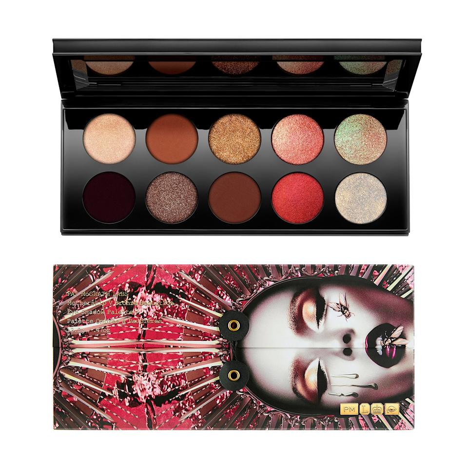 """<p>Ruled by warrior Mars and lord of the underworld, Pluto, Scorpio is intense (to say the least). Their passionate nature is represented by their colors, which are reds, dark browns, and rust. This eyeshadow palette from <a href=""""https://www.allure.com/story/pat-mcgrath-nyfw-euphoria-makeup-essay?mbid=synd_yahoo_rss"""">Pat McGrath</a> must have been made with Scorpios in mind.</p> <p><strong>$125</strong> (<a href=""""https://www.sephora.com/product/mothership-v-eyeshadow-palette-P86825294?icid2=products%20grid:p86825294"""" rel=""""nofollow"""" target=""""_blank"""">Shop Now</a>)</p>"""