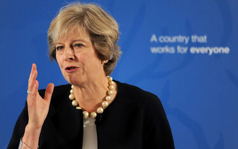 Theresa May is keen to revive grammar schools in England - Nick Ansell/PA