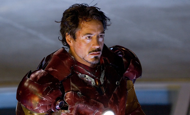 Downey Jr in 2008's Iron Man (Credit: Paramount)
