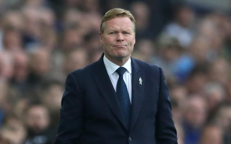 Everton manager Ronald Koeman has ambitions to coach his former club - PA Wire/PA Images