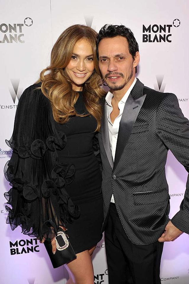 "Jennifer Lopez and hubby Marc Anthony had become one of Hollywood's most solid twosomes, after seven years of marriage that produced 3-year-old twins Max and Emme. However, that all changed when they announced their plans to divorce on July 15. ""This was a very difficult decision,"" they said in a statement. ""We have come to amicable conclusions on all matters."" Let's see how long that lasts!"